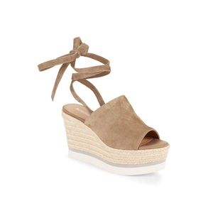 3715898d589eb ... ✖️SOLD✖ Nico Leather Open-Toe Wedge Sandals ...